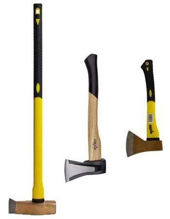 3er Set Beil, Axt und Spalthammer für 29,99€