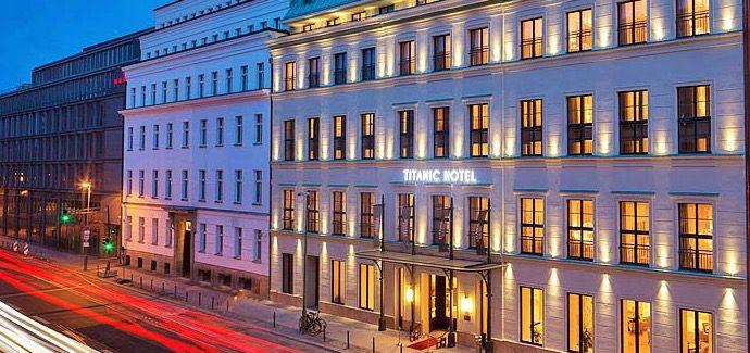 Berlin Titanic Hotel 2 Tage Berlin im 5* Luxus Hotel mit Frühstück & Wellness ab 57€ p.P.