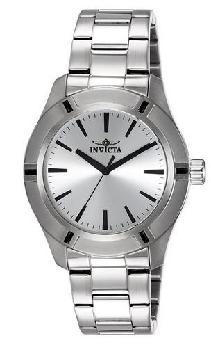 TOP! Invicta Men's Watch Analog Edelstahl Silber für 51,24€ inkl. VSK