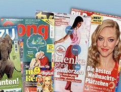 Zeitschriften Jahresabos ab effektiv 5,60€   HÖRZU, Gong uvm.