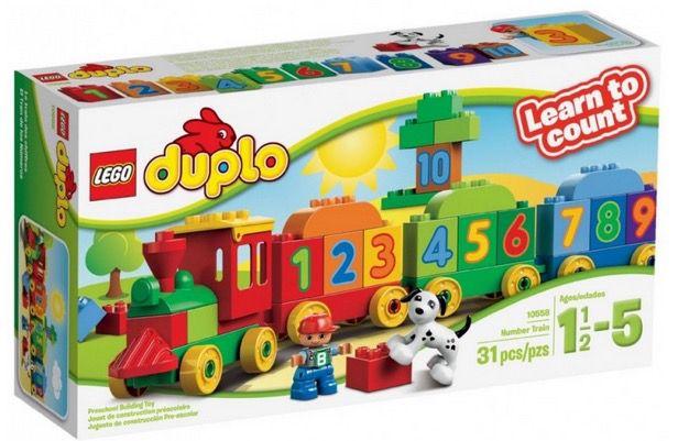 Lego Duplo Zahlenzug nur 14,29€ inkl. VSK (statt 19€)