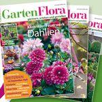 Jahresabo GartenFlora für effektiv 10€ dank Bargeldprämie