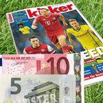 """26 Ausgaben """"Kicker"""" für effektiv 27,30€ dank Bargeldprämie"""