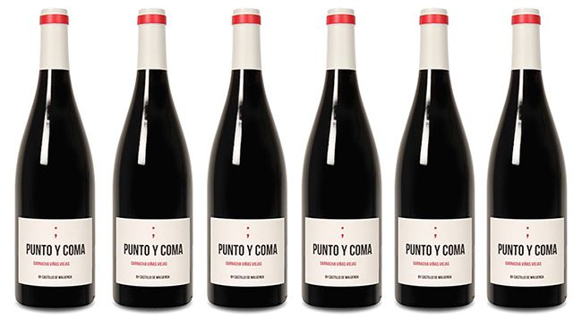 6 Flaschen Castillo de Maluenda – Punto y Coma Garnacha für 36,44€