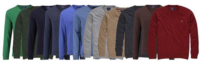 Bildschirmfoto 2017 01 19 um 08.11.52 Gant Herren Woll Pullover für 49,90€ (statt 70€)