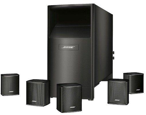 Bose Acoustimass 6 Series V   5.1 Heimkino Lautsprecher für 499,95€ (statt 699€)