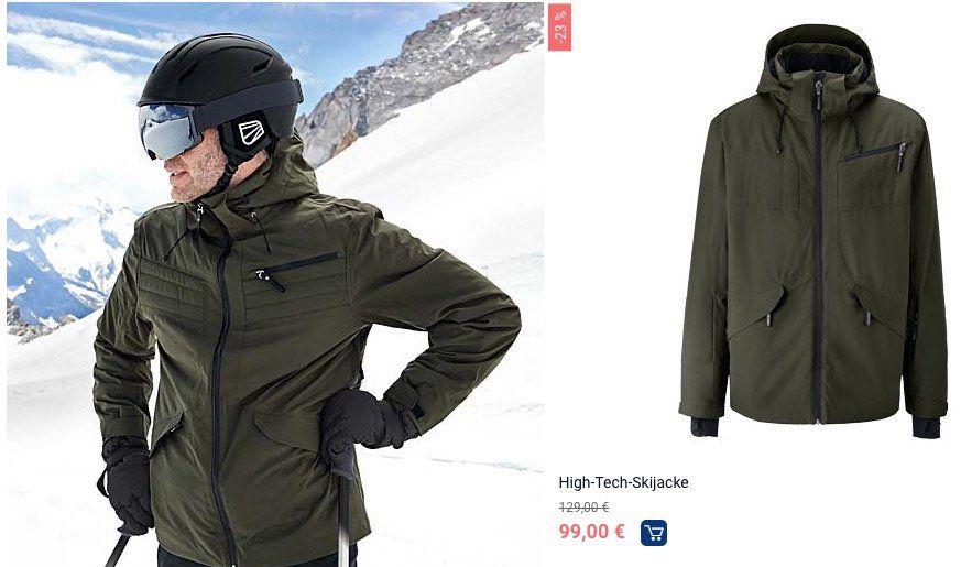 Tchibo: Ski Sale mit bis zu 60% + 10% Gutschein + VSK frei ab 20€   z.B. Kinder Skijacke nur 26,10€