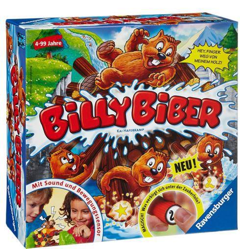 Billy Biber  Ravensburger Billy Biber   Geschicklichkeitsspiel ab 10€
