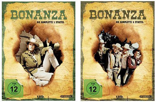 Bonanza DVD Bonanza Staffeln auf DVD ab je 9,99€ (statt 20€) + 5€ Gutschein ab 30€