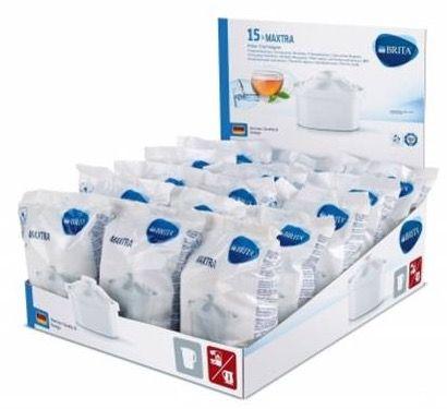 15er Pack Brita Maxtra Tischwasserfilter Kartuschen für 49,95€ (statt 58€)