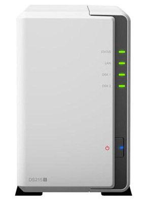 Synology DS215j DiskStation 2 Bay NAS für 144€ (statt 159€)