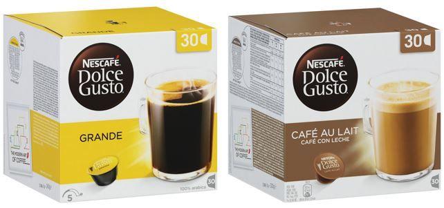Dolce Gusto Nescafé Dolce Gusto Vorratsbox Grande 90 Kapseln ab 18,99€