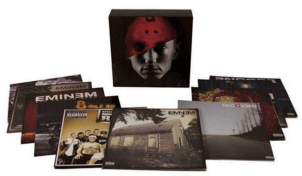 Eminem The Vinyl LPs (Limited 20 LP Box) für 167,69€ (statt 215€)