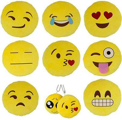 Emoji Kissen Anhänger für 1€   China Gadget!