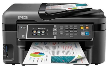 Epson WorkForce WF 3620DWF Epson WorkForce WF 3620DWF   Multifunktionsdrucker mit WLan und Fax für nur 99,90€