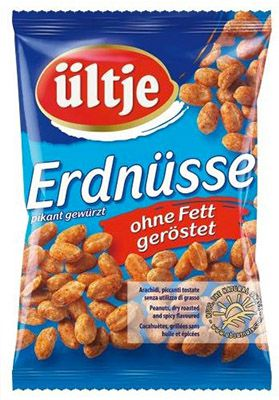 Preisfehler ? 12er Pack Ültje Erdnüsse pikant gewürzt ohne Fett für 6,28€ (statt 21€)