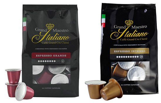 Espresso Kapseln Grand Maestro Italiano Espresso Kapseln ab je 0,17€