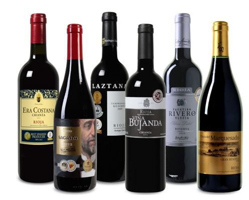 Faustino Probierpaket Rioja   6 Flaschen sehr gute Weine für nur 40€