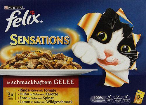 7,2kg Felix Sensations Katzenfutter Fleisch Mix für 18,87€ (statt 24€)