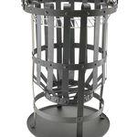 Feuerkorb mit Grillrost für 19,99€ (statt 27,95€)