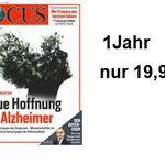 Focus Jahresabo statt 202,80€ für nur effektiv 19,90€ – Knaller!