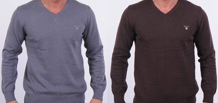 GIANT V Neck GANT V Neck Herren Pullover für 36,73€ (statt 54€)