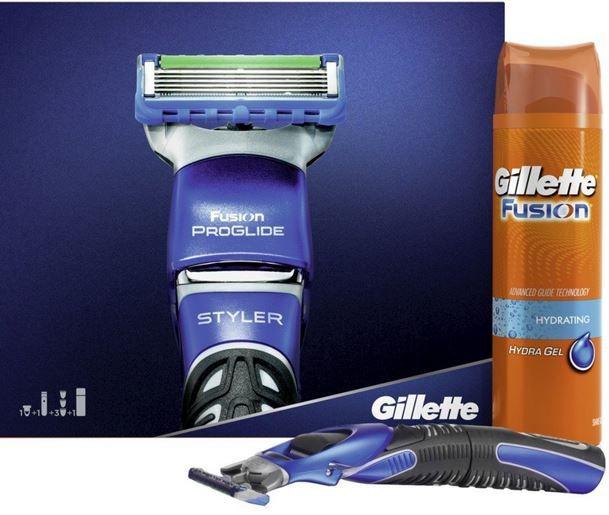 Gilette promo Gillette ProGlide Styler Geschenkset   Rasierer + Rasierschaum ab nur 9,33€