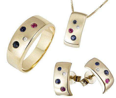 Goldmaid Goldmaid Ring, Kette oder Ohrringe mit 375 Gelbgold für 99€