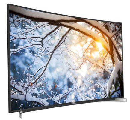 Grundig 65 FLX 9590 BP   65 Zoll Curved 4K 3D Fernseher für 1.899,99€ (statt 2.199€)