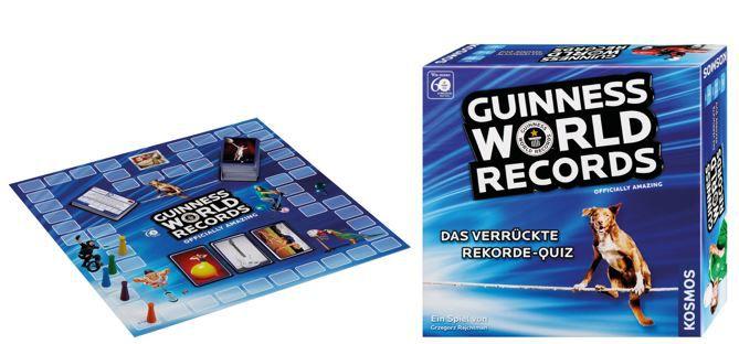 Guinnes World Records Kosmos   Guinness World Records 691974 Das verrückte Rekorde Quiz statt 21€ ab 6,94€