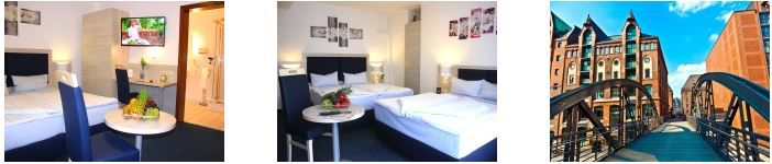 Hamburg Hotel Angebot 4 Tage 3* Hotel Altenwerder Hof Hamburg für 2 Personen nur 189,99€