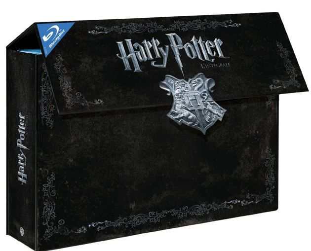 Harry Potter Hogwarts Komplettbox + Bonusmaterial Blu ray für 38€