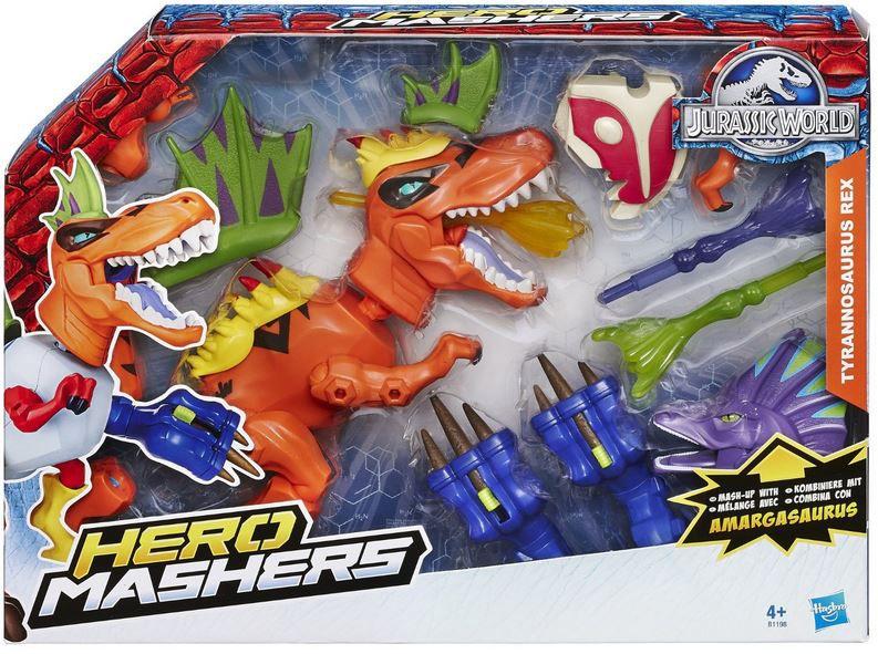 Hasbro Jurassic World   Hero Mashers T Rex zum selbstbauen ab 5,99€