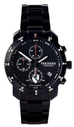 Preisfehler? Freiherr v. Burgstall Herren Armbanduhr für 49,95€ (statt 250€)   ABGELAUFEN!