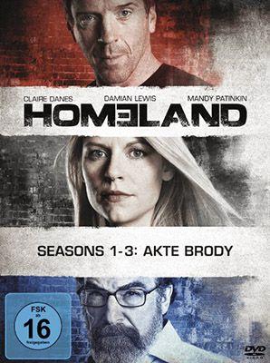 Homeland Staffel 1 3 (DVD) für 25€ (statt 40€)