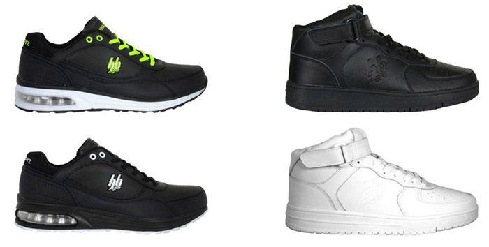 Hoodboyz Sneaker Hoodboyz Echtleder Low  & High Sneaker für je 24,90€