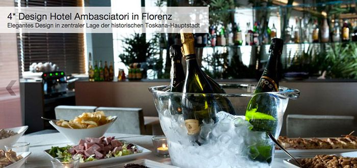 2 6 Tage Florenz (Toskana) im TOP 4* Design Hotel ab 42€ p.P.