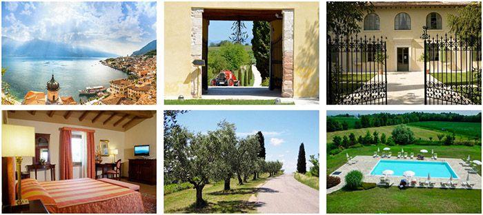 3, 4 oder 7 ÜN am Gardasee im 4* Hotel mit Frühstück oder Halbpension, Weinprobe & Kochkurs ab 159€ p.P.