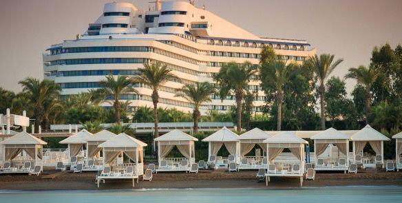 Hotel Titanic Beach Lara 7 oder 14 ÜN in der Türkei im 5* Hotel mit All Inclusive, Transfers, Flügen ab 399€ p.P.