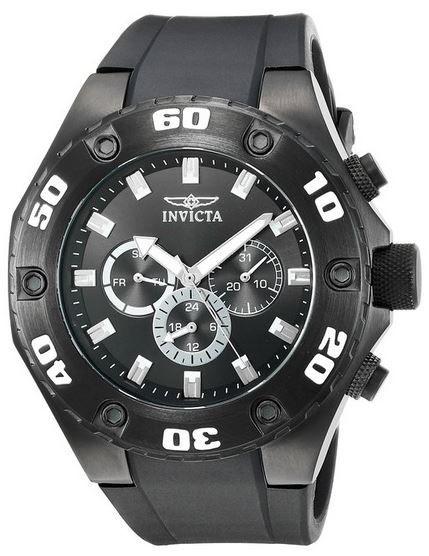 Invicta Chronograph   gehärtetes Kristallglas, 100m Wasserdicht statt 294€ für 96,99€