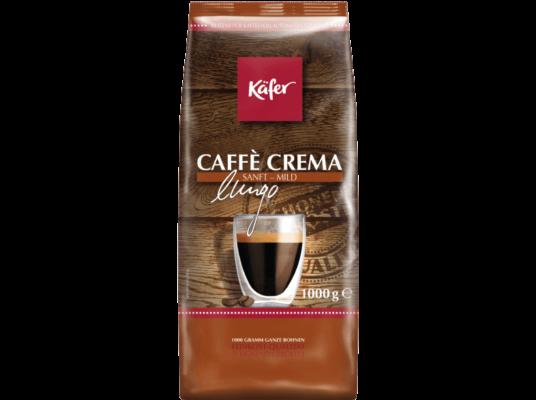 1kg Käfer CaffeCrema sanft & mild Bohnen für 7€ (statt 12€)