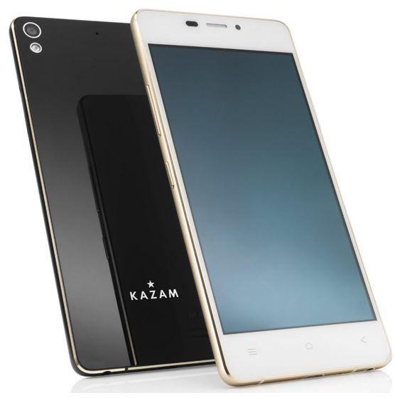 Kazam Tornado 348 Kazam Tornado 348   4,8 Zoll Android Ultra  Slim Smartphone für 119,90€