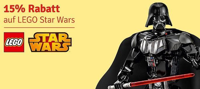 15% Rabatt auf Lego Star Wars bei myToys + 5€ Gutschein