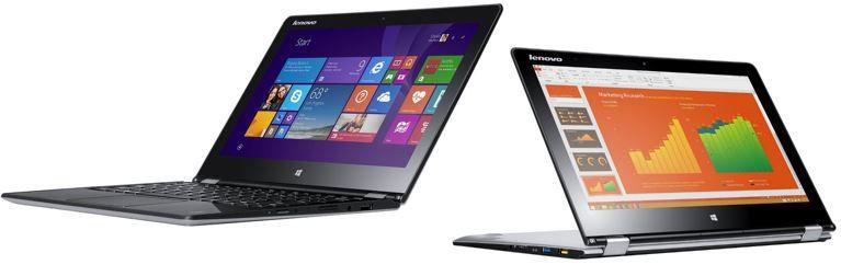 Lenovo IdeaPad Yoga 3   11 Zoll Convertible mit Intel Core M 5Y71, 8GB RAM und 256GB SSD für 679€