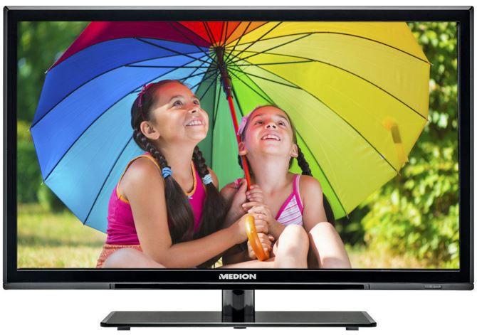 Medion Life P12236   24Zoll Full HD TV mit DVD Player für 169,90€