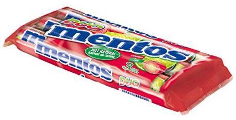 Preisfehler   ABGELAUFEN! 25er Pack Mentos Erdbeere Limette Duo ab 16,24€ (statt 25€)