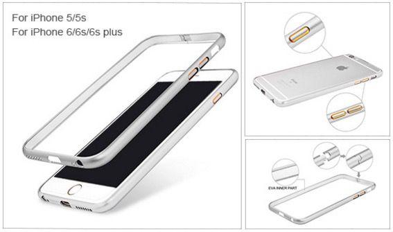 Metall Bumper Gratis Metall Bumper für iPhone 5/5S/6/6S/Plus