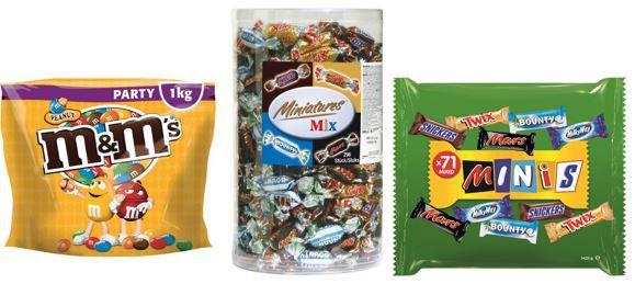 Miniatures Mix Markensüßigkeiten im Amazon Angebot des Tages