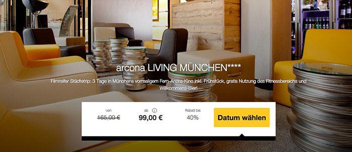 Muenchen Staedtetrip 3 Tage München im 4* Hotel mit Frühstück ab 99€ p.P.