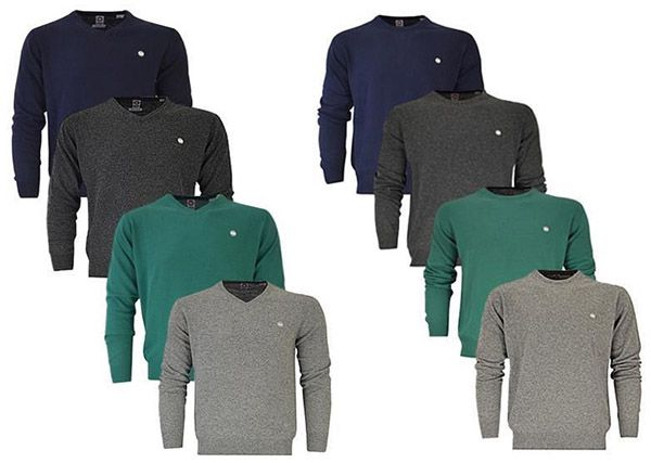 Murphy & Nye Herren V Neck/Rundhals Pullover für je 29,99€